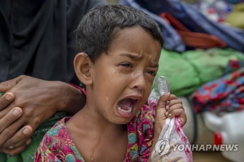 """유니세프 """"로힝야족 난민 아이들에게 지옥은 이곳"""""""