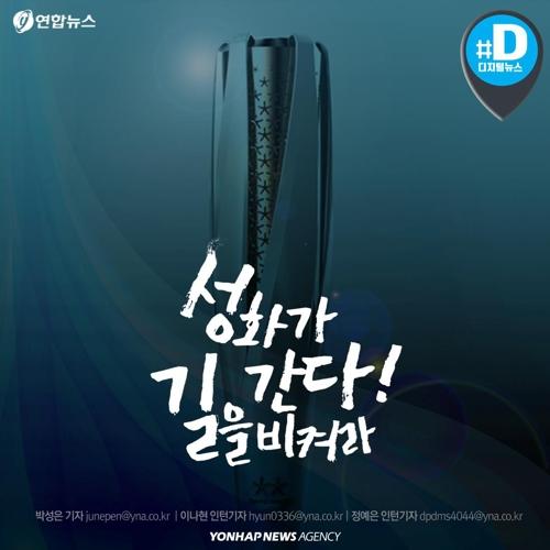 [카드뉴스] 성화 봉송 주자가 7천500명인 이유