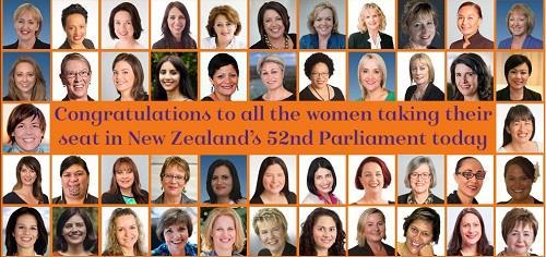 뉴질랜드 여성 국회의원, 120명 중 46명…38.3%로 사상최고
