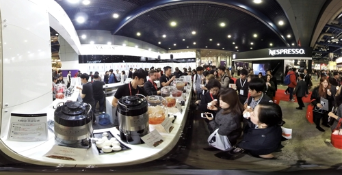 [VR현장] '카페의 모든 것'…아시아 최대 커피 전문 전시 열려
