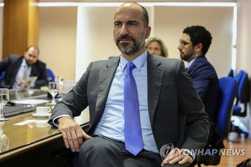 """우버 CEO """"소프트뱅크의 對우버 투자 이뤄질 것"""""""