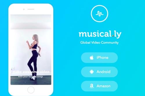 중국의 립싱크 앱 '뮤지컬리' 1조 원에 팔려
