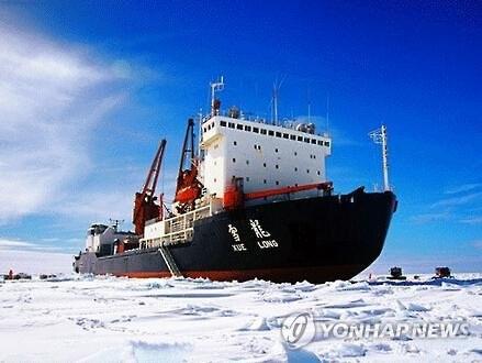 中·러, 북극해 경유 '얼음의 실크로드' 공동 개척