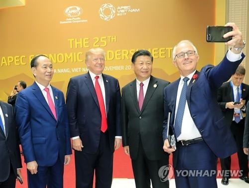 북핵문제 해결에 팔 걷어붙인 호주총리, 美中정상에 협력 호소