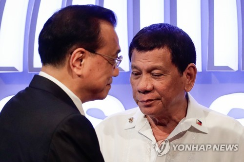 북핵·공정교역 매달린 트럼프·아베…남중국해 외교전 웃는 中