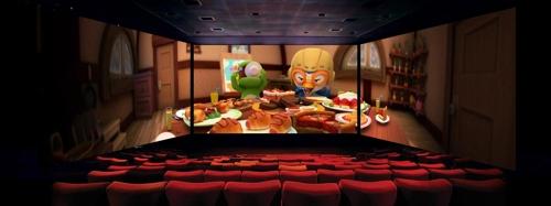 '뽀로로' 영화관서 3면 스크린으로 본다