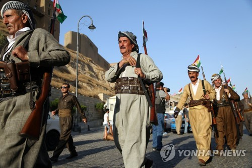 IS 격퇴 앞장선 쿠르드 독립 외면한 美, 군사지원금도 12% 줄여