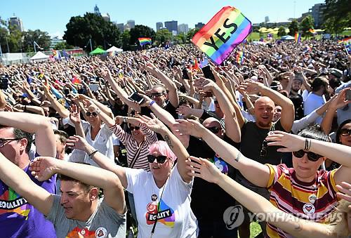 호주 동성결혼 합법화 가시화에 뉴질랜드 업계 울상