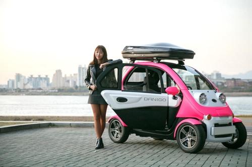티몬, 국산 최초 초소형 전기차 '다니고' 독점 판매