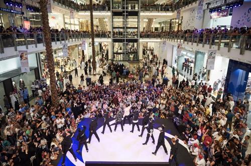 국제교류재단, 아랍에미리트서 난타 순회공연