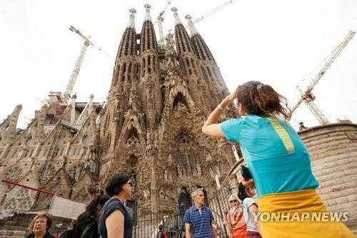 분리독립 갈등으로 바르셀로나 관광경기 크게 위축