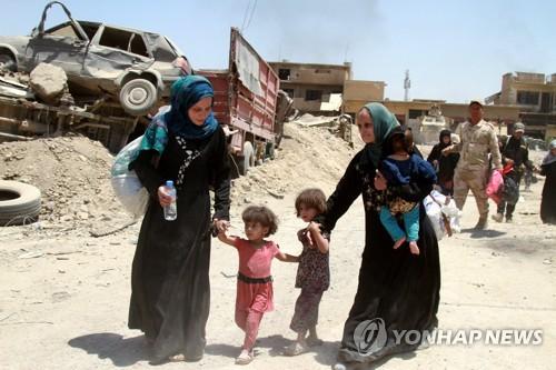 '이제 잦아드나'…이라크 10월 민간인 사망 IS사태 뒤 최저