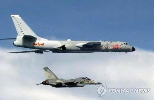 대만 인근에 中 공군기 이틀 연속 출현…대만 '초긴장'