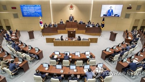 경북도의회, 지진피해 복구 지원 위해 행정사무감사 중단