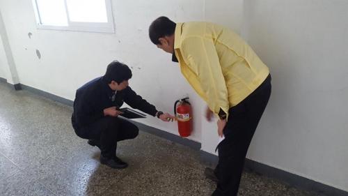 D-2 수능 시험장 안전 '이상 무'…충북 소방본부 긴급점검
