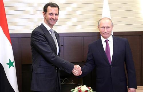 """푸틴 """"시리아 대테러전 마무리 단계…정치협상으로 이행해야"""""""