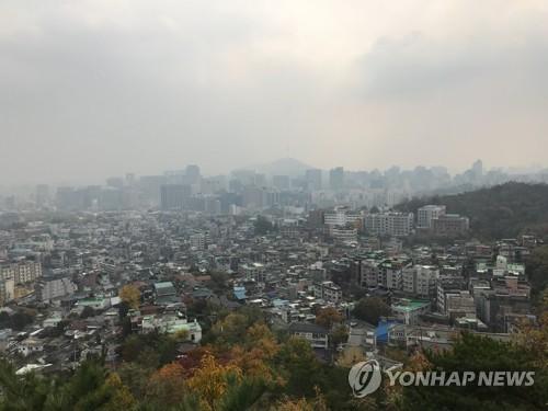 [날씨] 내일 소설, 눈 대신 비…황사로 미세먼지 '나쁨'
