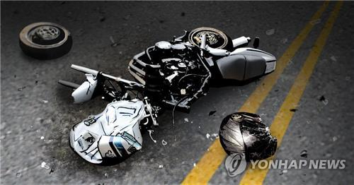 창원 65세 오토바이 운전자, SUV 충돌 후 숨져