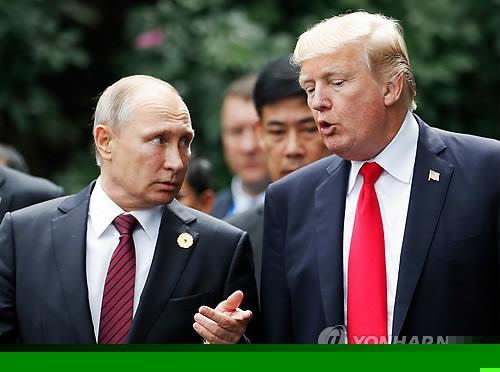 트럼프-푸틴, 1시간 통화…북핵·시리아·우크라이나 문제 논의(종합)