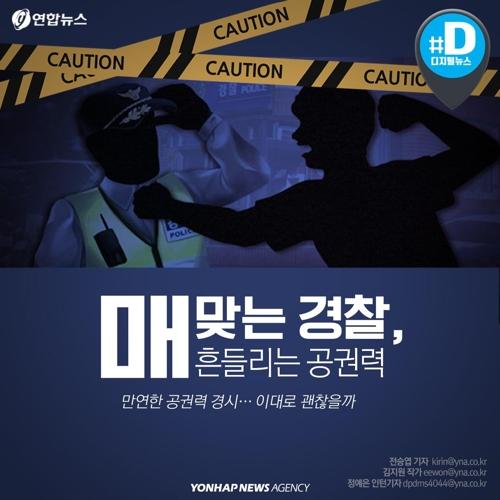 [카드뉴스] 뺨맞고, 흉기에 다치고, 숨지고…韓 경찰관들 눈물
