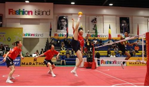 여자 세팍타크로 국가대표팀 세계선수권 금메달