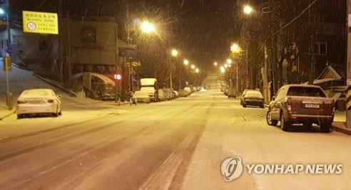 광주·전남 오후부터 눈 많이 올 듯…서해안 최고 15㎝ 예상