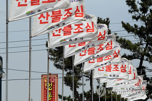 강원 일부 지역 강풍주의보…미시령 초속 24.5m