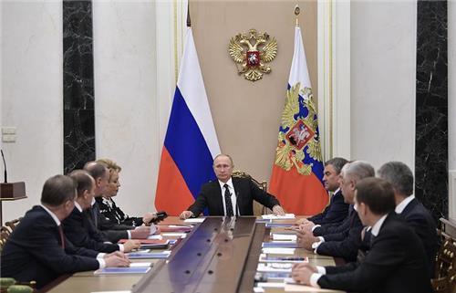 푸틴, 국가안보회의 열어 한반도 정세 논의