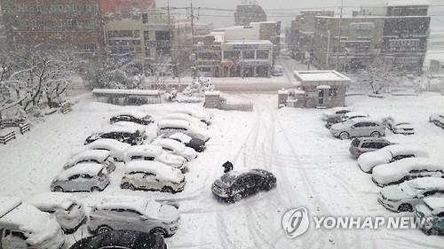 전북 오전까지 최고 5㎝ 눈…5개 시·군 대설주의보