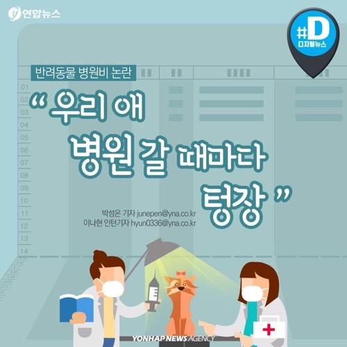 """[카드뉴스] 동물병원 진료비 천차만별…""""똑같은 약이 3배 비싸네요"""""""