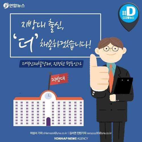 """[카드뉴스] """"역차별"""" vs """"진정한 평등"""" 지역인재할당제 논란"""