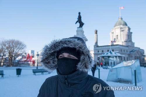 """캐나다 동부 한파 체감온도 영하 50도까지…""""1월초까지 계속"""""""