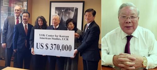 재미 기업인 홍명기 회장 '김영옥 연구소'에 37만弗 기부