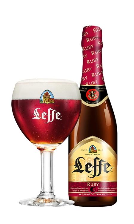 붉은 열매로 만들어진 과일 맥주 '레페 루비' 출시