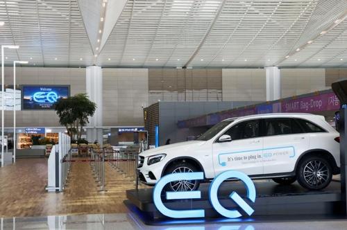 벤츠, 전기차 브랜드 'EQ' 공개…상반기 EQ SUV 출시