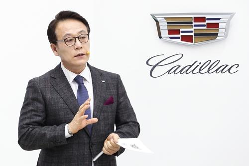 """캐딜락 """"작년 한국서 최대실적…올해 2천500대 목표"""""""