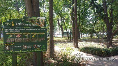 군산시 학교 3곳에 친환경 명상 숲 조성