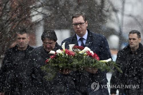 """세르비아 대통령, 코소보 방문…""""역내 안정 위해 최선"""""""
