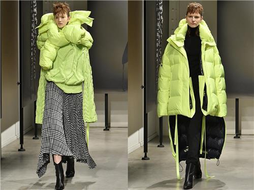 삼성물산 '준지', 파리서 가을·겨울 컬렉션 선보여