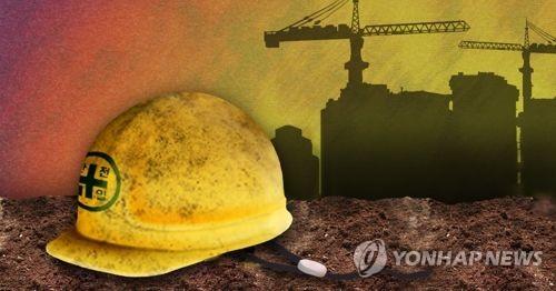 구미 공장서 떨어진 시설물에 깔려 근로자 사망