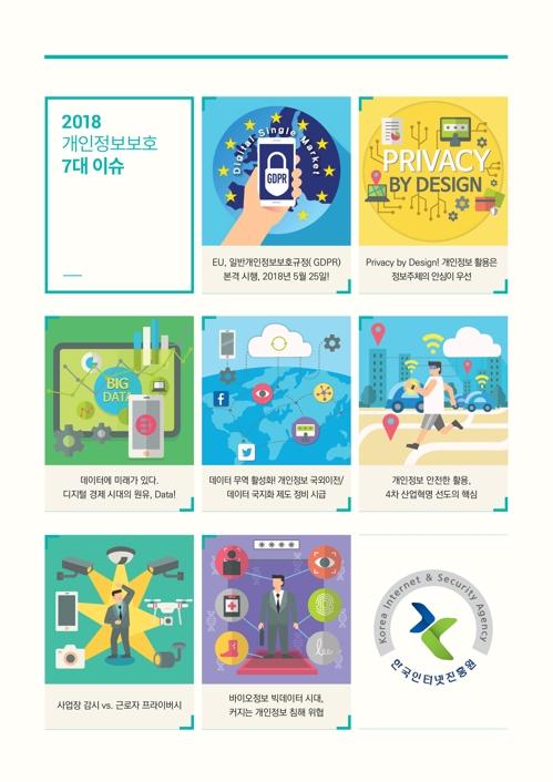 유럽 GDPR 시행·비식별화…올해 7대 개인정보 이슈