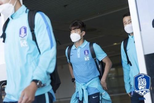 축구대표팀 '국내파 최종 테스트' 터키 전훈지 도착