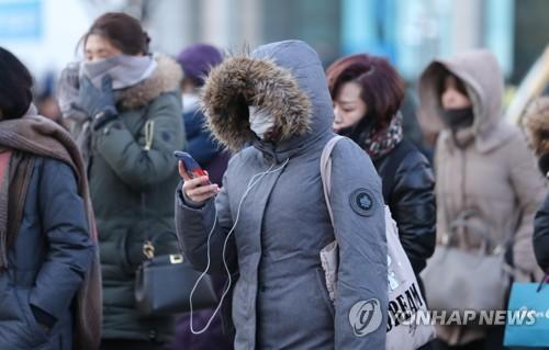 봉화 -19.0도…대구·경북 올겨울 최저기온 기록(종합)
