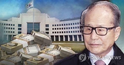 검찰, '출석불응' 이상득에게 26일 소환 다시 통보