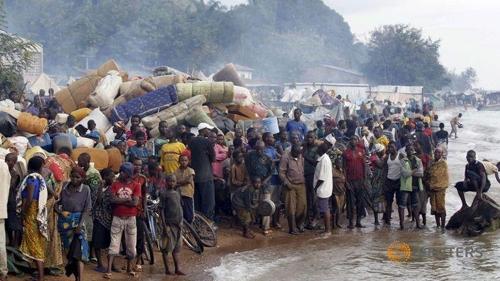민주 콩고 주민 7천 명, 분쟁 피해 부근 부룬디로 탈출