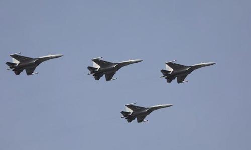 中, 남중국해 정찰에 최신예 Su-35 전투기 동원…위력시위 강화