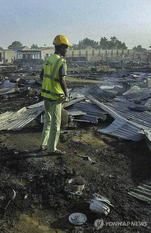 나이지리아 시장서 자살폭탄 테러로 19명 숨져