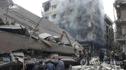 러시아, 시리아 東구타 휴전안 조건부 수용 시사