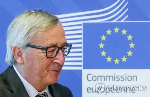 """융커 EU 집행위원장 """"EU, 이탈리아 정부구성 불발 대비해야"""""""