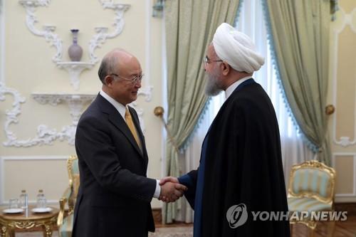 "IAEA ""이란, 핵합의 준수…핵추진체 개발 언급"""